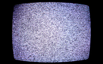 Cable TV Static Flicker